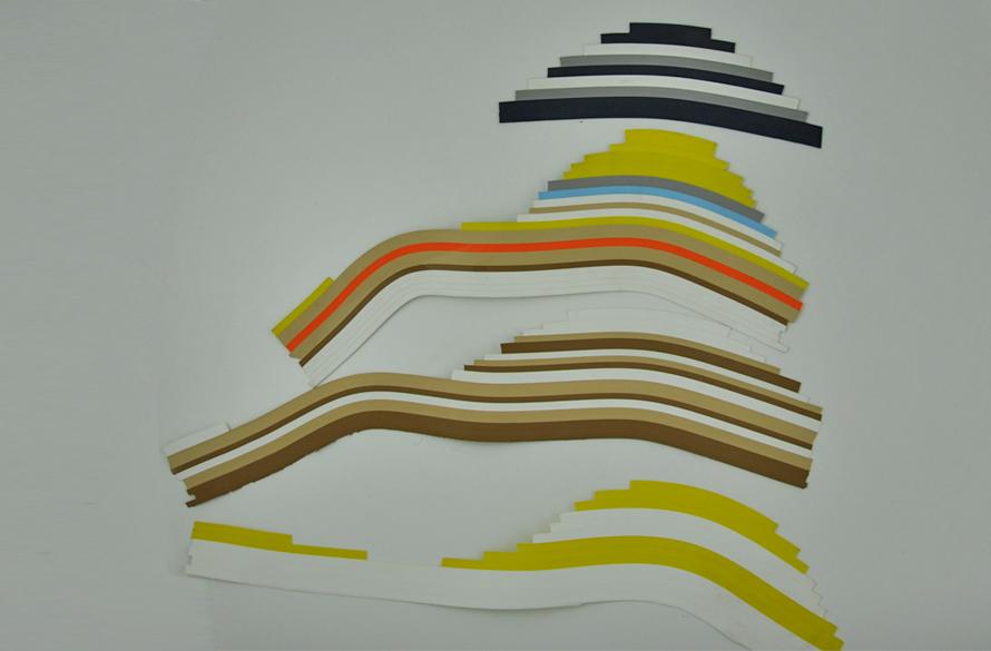 Fasce colorate stile prada