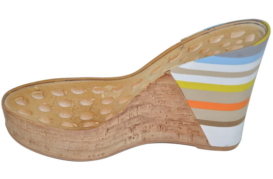 Fascia microporosa per calzatura in sughero