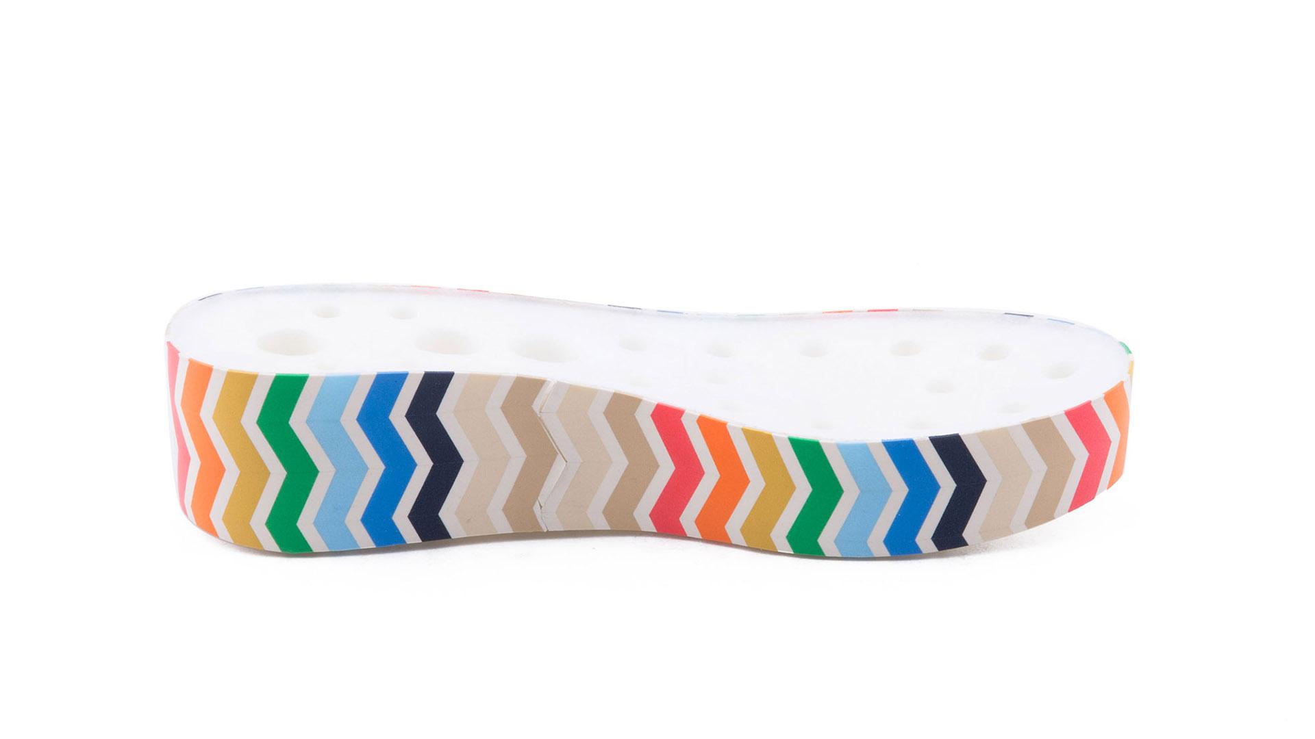 Fascia in microporosa multicolore