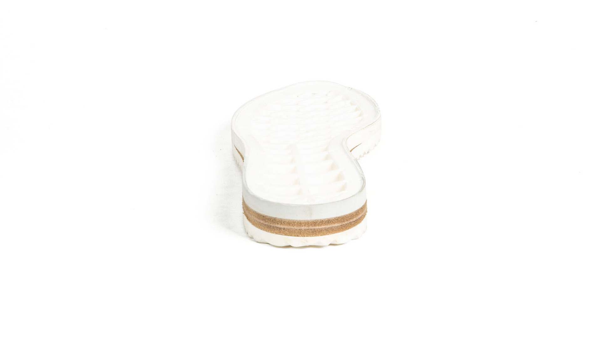 Leather and Microporous Strips for Woman Footwear